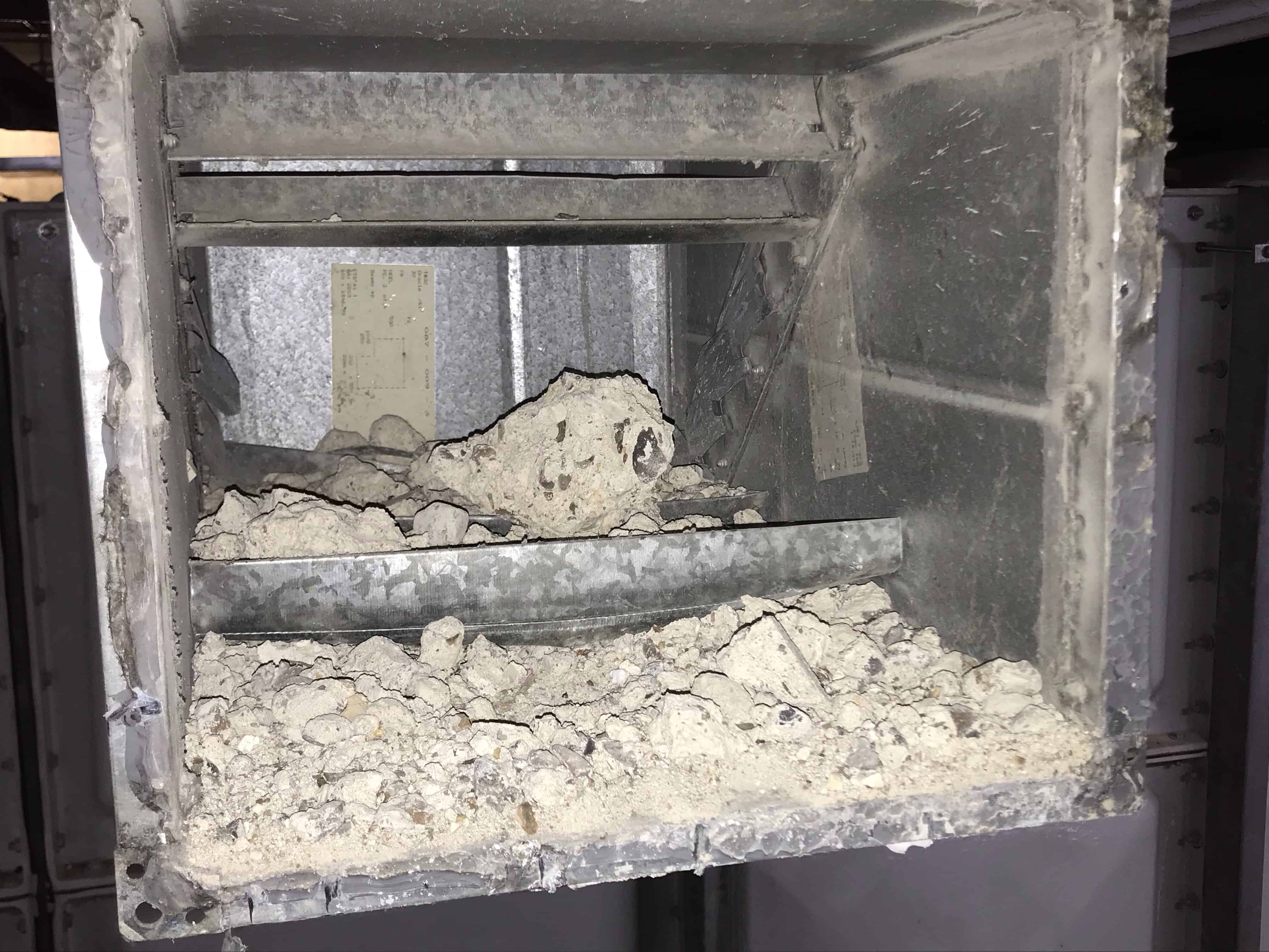 Dirty ductwork