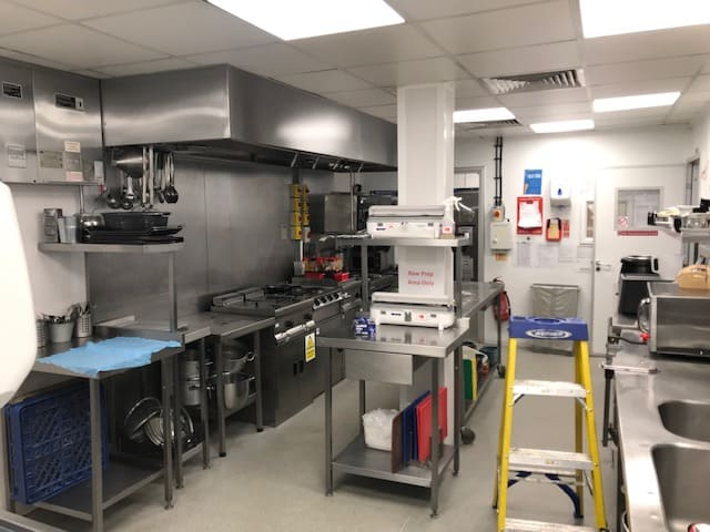 Completed extraction cleaning at Florette